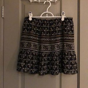 Madewell mini skirt